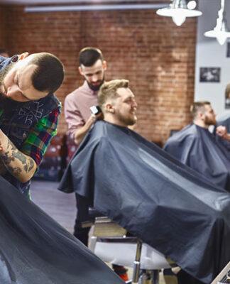 Fartuchy fryzjerskie